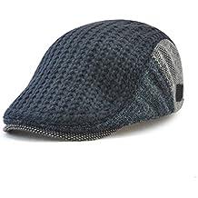 GADIEMKENSD Cappelli Donna Uomo Invernali Cappellini Visiera Curva Cappello  Trucker Lana Vintage 87b225c6042e
