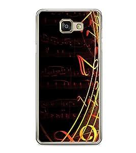 MUSIC Designer Backcover Samsung Galaxy A5 2016