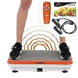 Mediashop Vibro Shaper Vibrationsplatte Ganzkörper Trainingsgerät rutschfest große Fläche inkl...