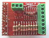 SF Innovations Custard Pi 5 - Tarjeta de circuito impreso para ordenador Raspberry Pi (con 8 entradas y salidas digitales protegidas frente a picos de tensión)