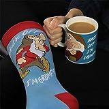 Toy Box PP3554DP - Set Gruñón Taza y calcetines, multicolor