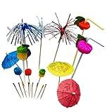 IMS Party 301395 Party Set Fiesta, sortierte Designs, 200 Stück/Box