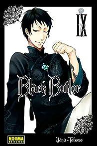 BLACK BUTLER 9 par Yana Toboso
