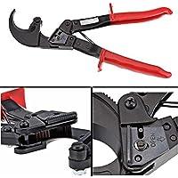 Cortador de alambre de trinquete para servicio pesado Corte de alambre hasta 240 mm de alambre cuadrado de aluminio y cobre 22 mm Eléctrico
