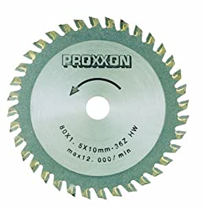Proxxon 28732 carbures tipped saw blade 36 dents Ø80mm