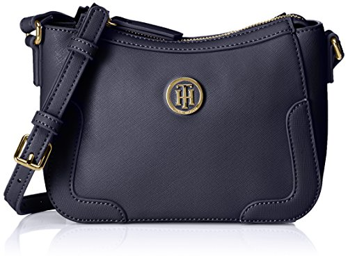 Tommy Hilfiger - Miss Tommy Crossover, Borse a tracolla Donna Blu (Tommy Navy)