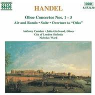 Handel: Oboe Concertos Nos. 1- 3 / Suite in G Minor