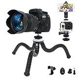 Best Sony iPhone Projector - Sugelary Flexible Tripod, Mini Travel Tripod Camera Video Review