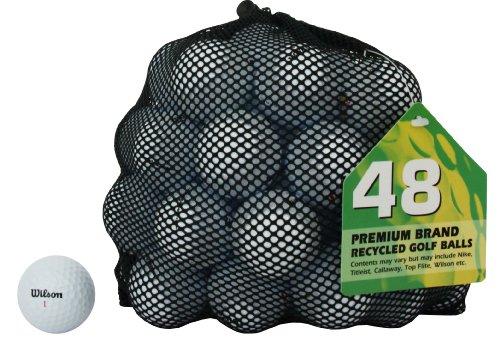 Second Chance Wilson 48 Balles de golf de récupération...