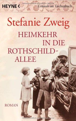 Buchseite und Rezensionen zu 'Heimkehr in die Rothschildallee' von Stefanie Zweig