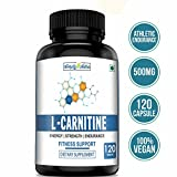 #10: Simply Nutra L- Carnitine Tablet 500mg - (Amino Acid for Muscle, Brain & Heart) - 120 Capsules
