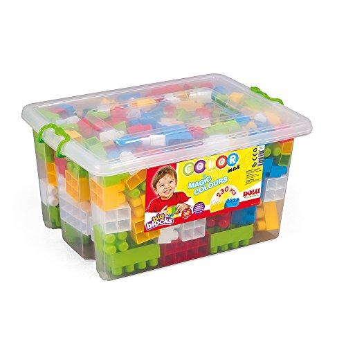 Dolu - Big Blocks Colors en caja de plástico, 230 piezas (6265093)