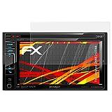 atFoliX Folie für Kenwood DNN6250DAB Displayschutzfolie - 3 x FX-Antireflex-HD hochauflösende entspiegelnde Schutzfolie
