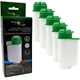 5x FilterLogic CFL-901B Wasserfilter für SIEMENS EQ.9 EQ.8 EQ.7 EQ.6 EQ.5 EQ.3 - Brita Intenza TZ70003 alternative Filter Patrone