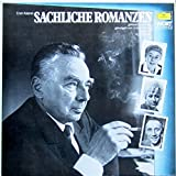 Erich Kästner: Sachliche Romanzen [Vinyl LP] [Schallplatte]