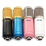 Tutoy BM800 Aufzeichnung Dynamischer Kondensator-Mikrofon Mit Shock Mount-Blau