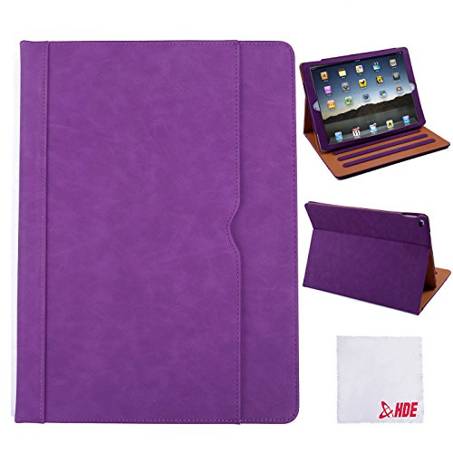 hde-ipad-pro-case-folding-leather-flip-stand-magnetic-cover-for-apple-ipad-pro-129-purple