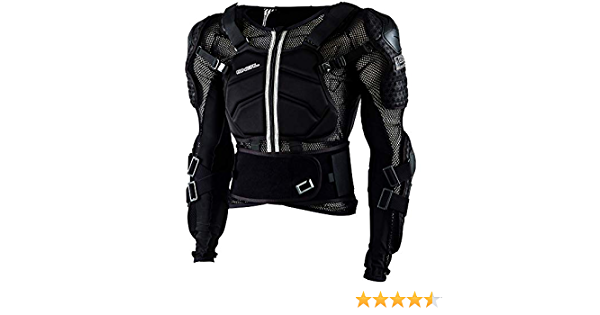 O Neal Underdog Protector Jacket Youth Children S Protector Jacket Black Oneal Bekleidung