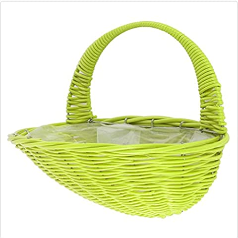 Weave Wall Basket By Ever Garden -