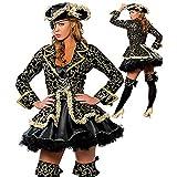 希倍朦 Disfraz de Pirata de Mujer Sexy del Caribe para Mujer, Traje de Halloween, Cosplay, Uniforme (Color : Multi-Colored, Size : Una Talla)