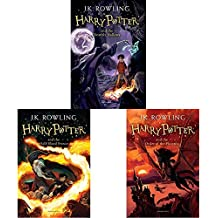 Harry Potter And The Deathly Hallows (Harry Potter 7) + Harry Potter And The Half Blood Prince + Harry Potter And The Order Of The Phoenix (Harry Potter 5) (Set of 3 Books)