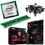 Aufrüstkit Z170A_GAMING M3+i5-6600K+8GB  Desktop-PC (Intel Core i5-6600k Skylake, 8GB RAM, on Chip: Intel HD530, kein Betriebssystem)
