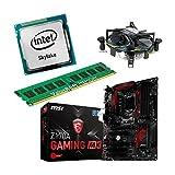 Aufrüstkit Z170A_Gaming M3+i5-6700+8GB Desktop-PC (Intel Core i7-6700 Skylake, 8GB RAM, on Chip: Intel HD530, Kein Betriebssystem)