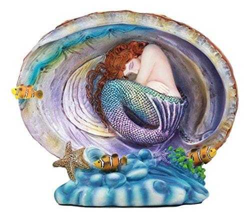 Sheila Wolk Mermaid Pearl Deep Ocean Slumber Atlantis Kreaturen Skulptur Statue