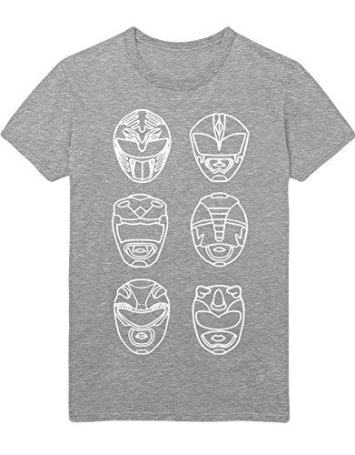 T-Shirt POWERRANGERS H100009 Grau M