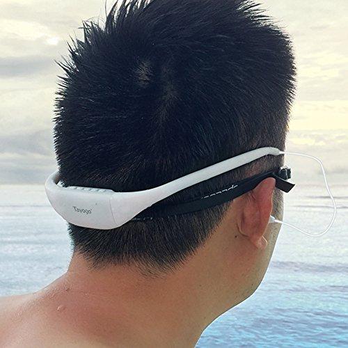 Zoom IMG-2 tayogo cuffie impermeabili per nuoto