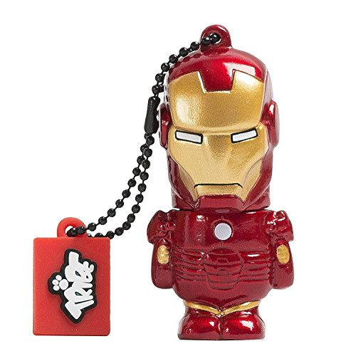 Marvel The Avengers - Iron Man Official Merchandise Collectible 16 GB USB Flash Drive/Pen Drive and Keyring Holder  available at amazon for Rs.1499