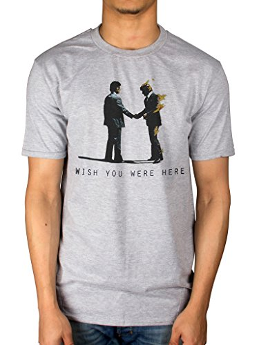 Official Pink Floyd Wish You Were Here T-Shirt, S to XXL