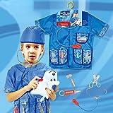 EZSTAX Disfraz de Veterinarios para Niños de Halloween