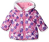 Wippette Baby Girls Flower Print Puffer