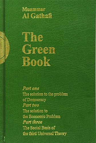 Gaddafi's The Green Book por Muammar al-Gaddafi
