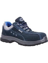 Paredes sp5022az45Osmio III–Zapatos de seguridad S1P talla 45AZUL