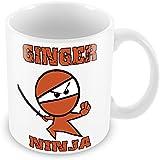 Ginger Ninja Joke Funny Novelty Ideal Gift Mug