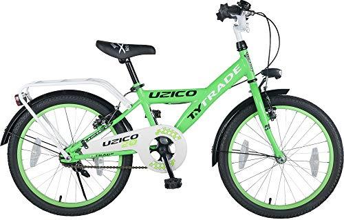20 Zoll Kinder Jungen Bike Fahrrad Rad Jungenfahrrad KINDERFAHRRAD Kinderrad BMX Rücktrittbremse UZICO GRÜN TYT19-032