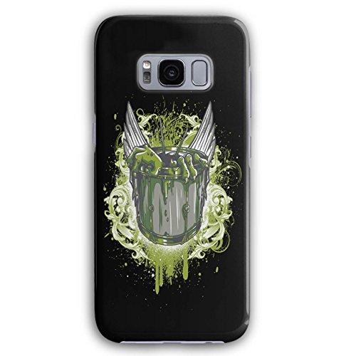 Wellcoda Hexe Schüssel Unheimlich Mode 3D Galaxy S8 Hülle (Schüssel Moda)