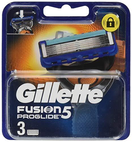 Gillette Fusion ProGlide - Pack 3 recambios maquinilla