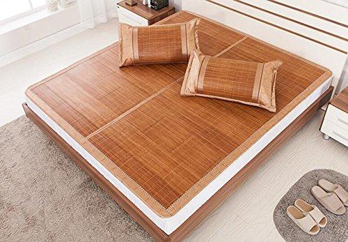 Alfombra de bambú de Liangxi Alfombras de bambú de doble cara Dormitorios plegables individuales y dobles ( Tamaño : 1m )