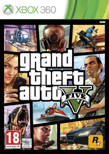 Take 2 GTA V Grand Theft Auto 5 Xbox 360 by Rockstar Games