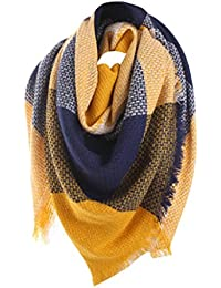 b59b1992f4b6 Malloom® Foulards, Echarpe en coton à manches longues en coton à manches  longues
