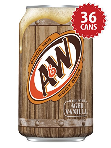 A&W Root Beer - US Import! (36 Dosen x 355ml)