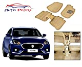 #2: Auto Pearl - Beige 3D Car Foot Mats Set Of 5 Pcs. For - Maruti Suzuki Swift Dzire 2017
