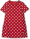United Colors of Benetton Mädchen Kleid Dress, Rot (Red 914), One Size (Herstellergröße: EL)
