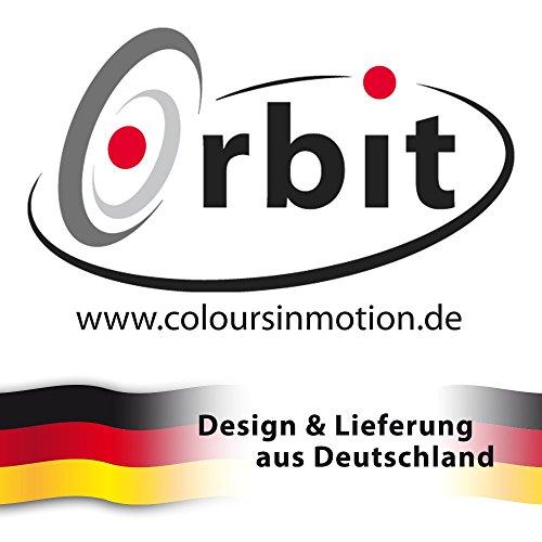Edelstahl Windspiel – TROPFEN 170 – rostfreier Edelstahl – Abmessung: 10,5x17cm, Kugel: Ø3cm – inkl. Aufhängung und Glaskugel - 6