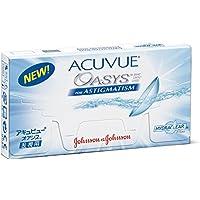 Johnson & Johnson Acuvue Oasys for Astigmatism, 6 Stück / BC 8.6 mm / DIA 14.5 / -0.75 Dioptrien