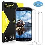 CRXOOX Lot de 3 Verre Trempé pour Samsung Galaxy S7 Film Protection Écran en Verre Trempé Transparent [Facile à Installer] [3D-Touch/Dureté 9H] [sans Bulles d'air] - pour Samsung Galaxy S7