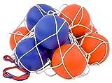 Betzold 100149 - Softball-Set - 10 Schaumstoffbälle im Ballnetz, 16 cm...